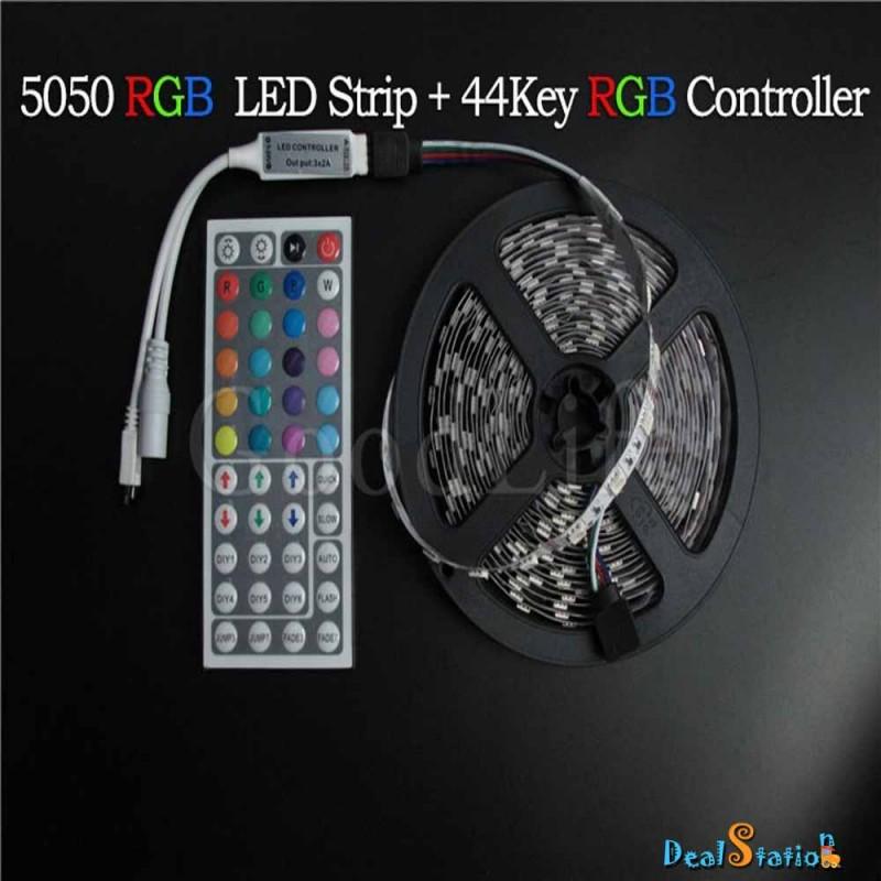 5M RGB LED Strip 5050