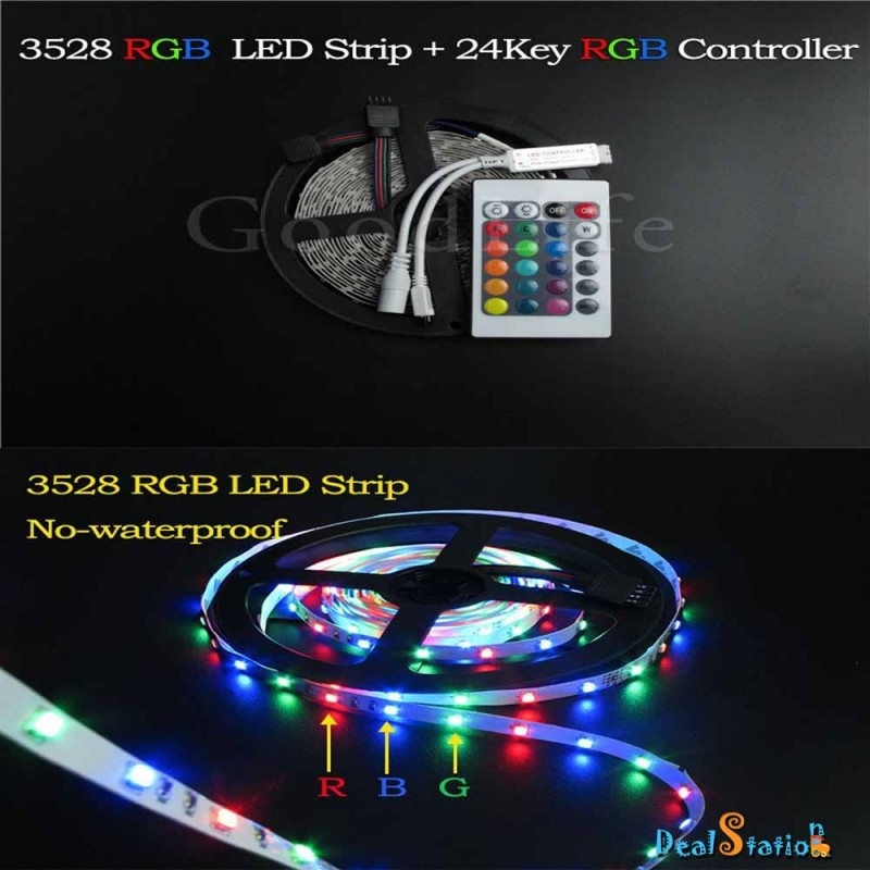 5m rgb led strip light aloadofball Gallery